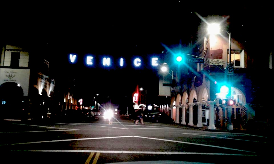 Venice at night. That's when it all goes down.